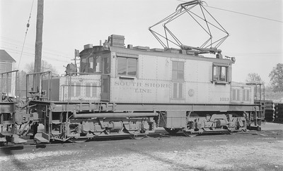 2018.15.N64.2968--ed wilkommen 116 neg--CSS&SB--electric locomotive 1013--Michigan City IN--1963 1100