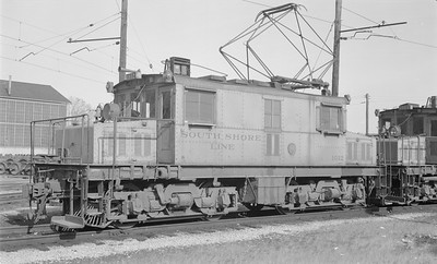 2018.15.N64.2967--ed wilkommen 116 neg--CSS&SB--electric locomotive 1012--Michigan City IN--1963 1100