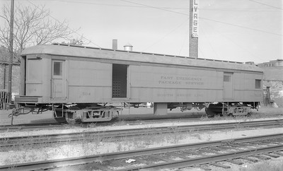 2018.15.N64.2946--ed wilkommen 116 neg--CSS&SB--baggage trailer 504--location unknown--no date