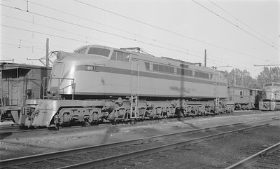 2018.15.N64.2965--ed wilkommen 116 neg--CSS&SB--electric locomotive 801--Michigan City IN--1967 1000
