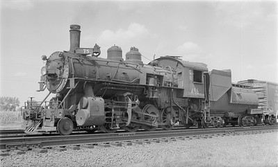 2018.15.N81.6238--ed wilkommen 116 neg--UP--steam locomotive 2-8-0 486--Central City NE--1955 0903