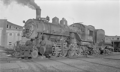 2018.15.N81.6236--ed wilkommen 116 neg--UP--steam locomotive 2-8-0 460--Council Bluffs IA--1953 0902