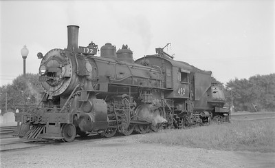 2018.15.N81.6240--ed wilkommen 116 neg--UP--steam locomotive 2-8-0 492--location unknown--no date