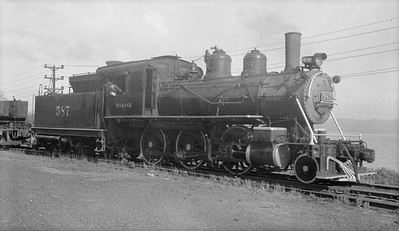 2018.15.N94.7144B--ed wilkommen 116 neg--WAB--steam locomotive 2-6-0 587--Keokuk IA--no date