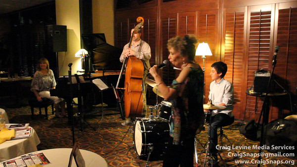 Alex Smith, drums; Benjamin May, bass; Peggy Duquesnel Malbon, piano - Short Version