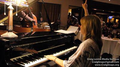 Peggy Duquesnel Malbon on piano