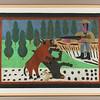 Bear and Deer Hunt.  1972.   22 x 32 in. (55.9 x 81.3 cm.)