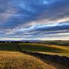 Evening light over the Eden Valley