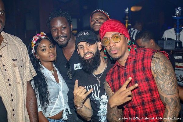 Eden on Peachtree at E11even45  w/ Nick Cannon 7/8/18