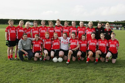 St. Mary's, Edenderry who played St. Leo's, Carlow in the Leinster 'A' Senior final at Stradbally.