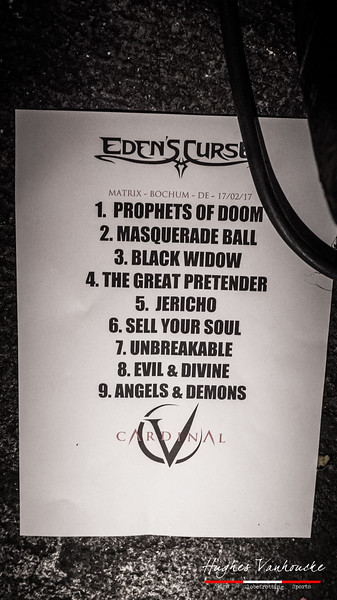 Eden's Curse @ Matrix - Bochum - Deutschland/Germany