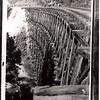 (Post) Clark Trestle Adako, NC--119 ft high, 485 feet long--Picture from Cecil Hailey Collection via Claude Hailey. Taken by A. G. Ford.