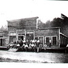 W. M. Ritter Lumber Co. Store at Mortimer--Dressed man is Bill Mortimer.