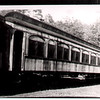 Last train to Edgemont at Edgemont June 1937 The only vestibule coach that the C&NW ever owned it was No. 505.