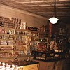 Coffey's General Store Shelves of Stock