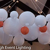 Edgewod Club Wedding Paper Lanterns and Cafe String Lights