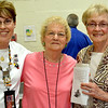 Former Edgewood staff reunited at an open house held at Edgewood Grade School over the weekend. From left are: Linda Lewis, Gladys Cox (Austin) and Sally Sherrick.