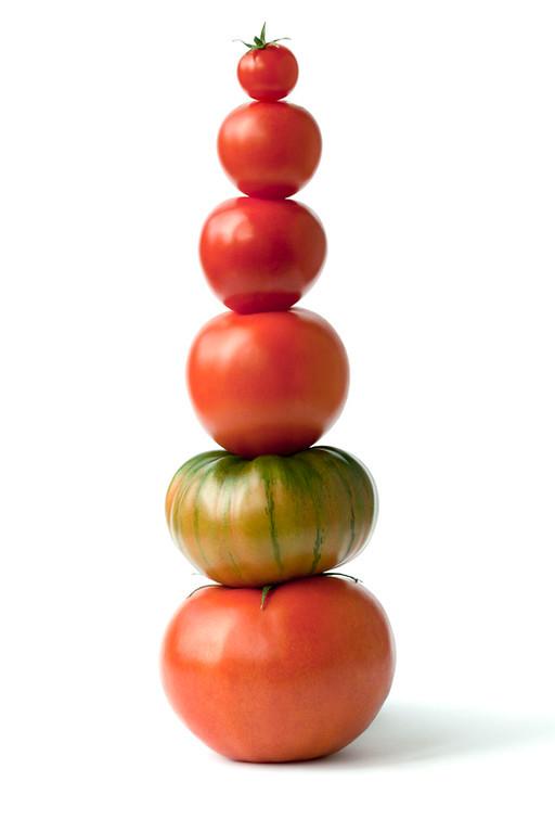 Teetering Tomatoes