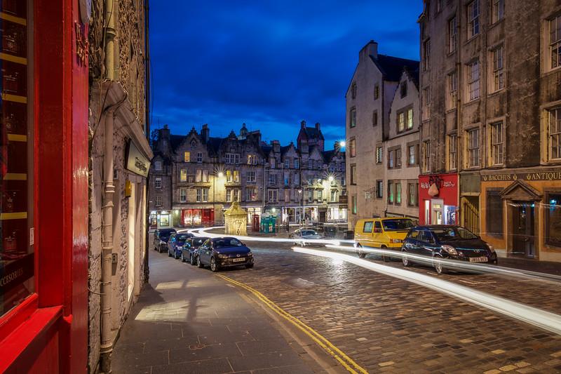 Night Time, Victoria Street