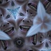 Lisa Teiger  fun with iPhoto booth. Kaleidoscope