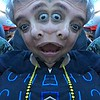 fun with iPhoto booth effects  Lisa with multiple heads