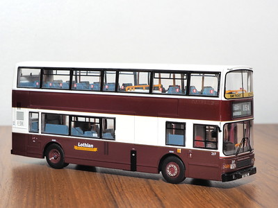 CMNL UKBUS4015 Lothian Buses Volvo Olympian Alexander Royale 269 route 15A to Eastfield