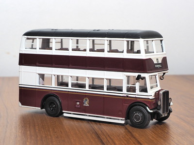 Corgi OOC 43915 Edinburgh Corporation AEC Regent Park Royal utility body