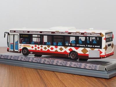Corgi OOC OM46003 Lothian Buses Volvo B7RLE Eclipse route 22 'Britannia'