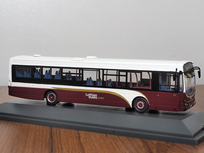 Corgi OOC OM46015B Lothian Buses Volvo B7RLE Eclipse route 1 to Clermiston