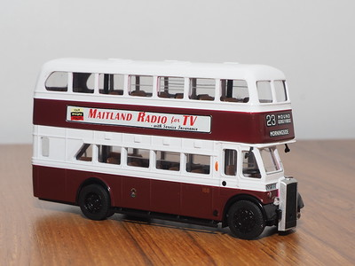 Forward Models EDE-18 Edinburgh Corporation Daimler CVG6