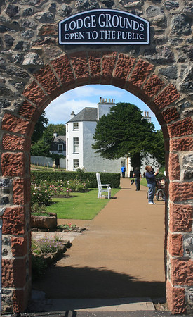 North Berwick Lodge Garden, East Lothian.