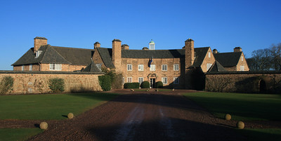 Greywalls Hotel, East Lothian designed by Sir Edwin Lutyens.