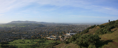 South Edinburgh from Arthurs Seat.