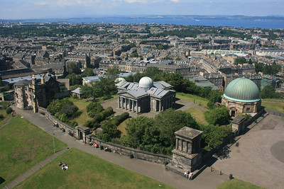 Old Observatory, Calton Hill, Edinburgh.