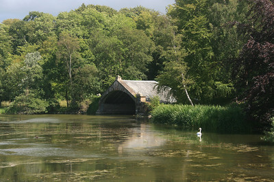 Boat House at Gosford House estate, East Lothian.