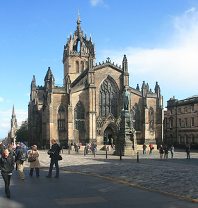 St Giles Cathedral, Royal Mile, Edinburgh.