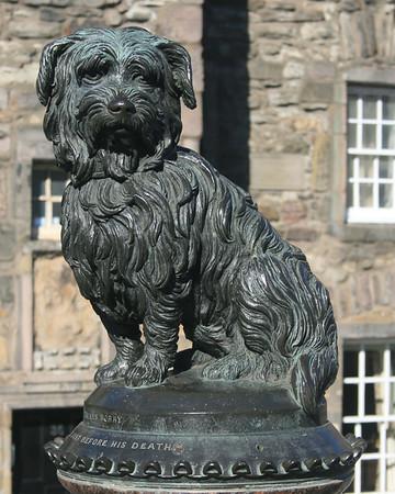 Greyfriars Bobby, Edinburgh.