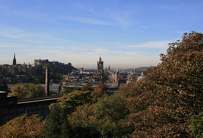 Edinburgh from Calton Hill.