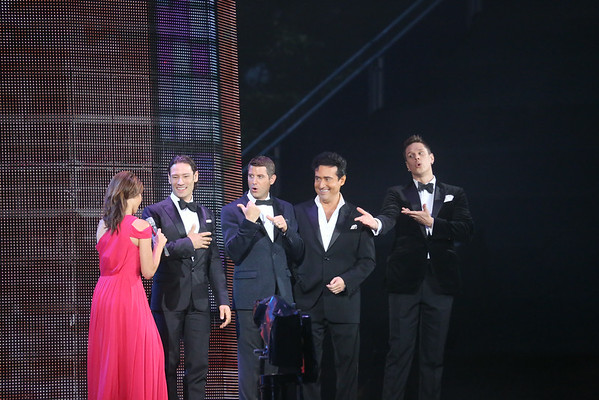 Il Divo and Alex