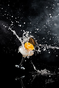 Orange Splash - © Camerashy Photography