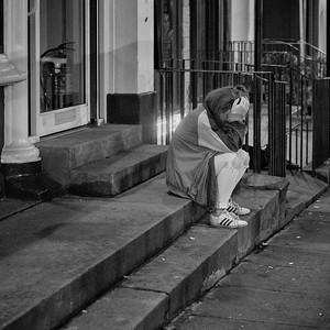 Head In Hands. #EdinburghNights