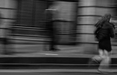 Running through the Cowgate. #EdinburghNights
