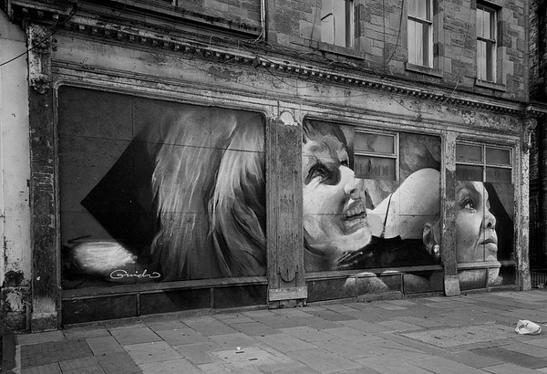 Seven Deadly Sins Mural by Guido van Helten, Leith Walk, Edinburgh.