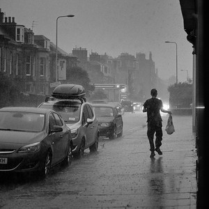 A Downpour in Leith 3.