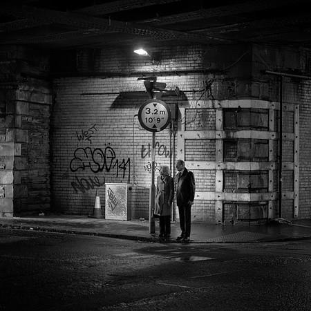 Waiting Patiently (Take 1), Calton Road, Edinburgh. #StreetVignettes