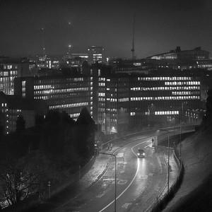 The Curves Of Johnston Terrace, Edinburgh.