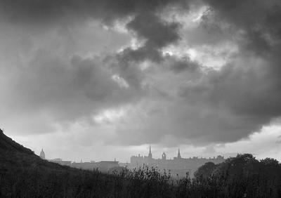 The Skyline From Holyrood.