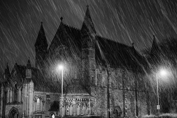 Mansfield Traquair snow