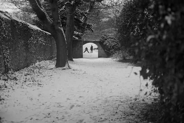 Through The Archway, Cramond, Edinburgh.