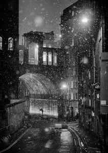 The Umbrella, Regent Bridge, Edinburgh